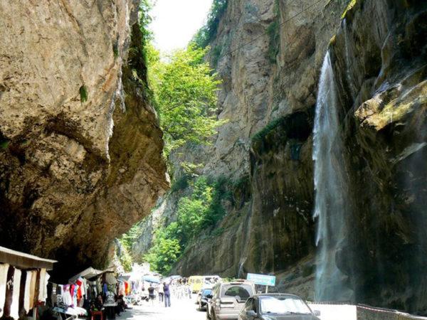 Поездка на Чегемские Водопады